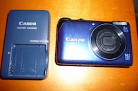 CANON Power Shot A2200 HD Camera w/Charger, Batt, Case & Strap TORONTO