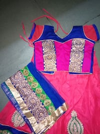toddler's blue and pink dress Ahmedabad, 380007