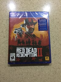 Red dead redemption PS4 pro game Mississauga, L5R 3Y7