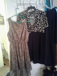 Size 1x dresses. 6.00 each.