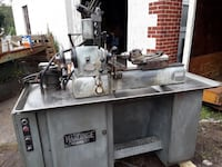 Harding second operation lathe with tooling Telford