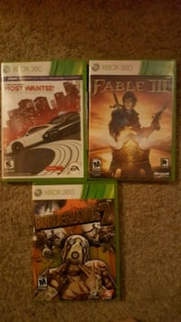 NFS: most wanted, Fable 3 & Borderlands 2 Winnipeg, R3P 0V8