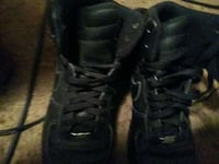 pair of black Nike Air Force 1 low shoes Waco, 76706