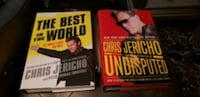 Chris Jericho signed books