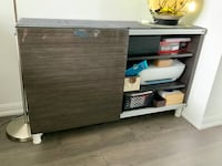 Besta ikea cabinet with sliding door and legs Toronto, M6K 3R4
