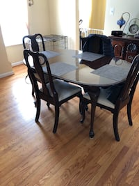 Ethan Allen Queens Anne's Solid Cherry dining room set Savage, 20763