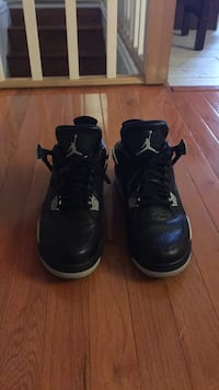 pair of black Air Jordan basketball shoes Alexandria, 22312