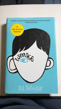 Wonder by R.J. Palacio. Perfect condition hard cover