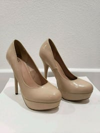 Nude Heels / Pumps, Only Worn Once, Size 6.5