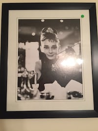 grayscale photo of Audrey Hepburn with black frame Newport News, 23601