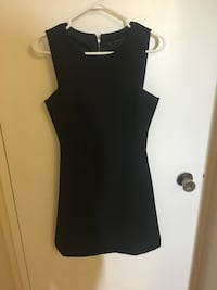 black scoop-neck sleeveless dress Toronto, M9W 6A7