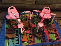 toddler's two pink-and-red Radio Flyer trikes Bakersfield, 93307