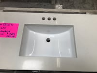 New aspen quartz vanity top cabinets not included Gaithersburg, 20877