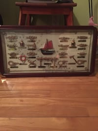 Sailor'S KNOTS DECORATIVE WALL FRAME. GREAT CONDITION Montréal, H8N 1Y9