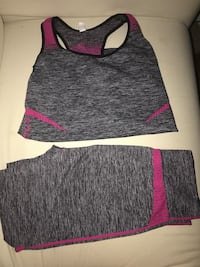 Workout outfit top & tights San Antonio, 78229