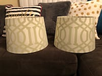 Two lamp shades perfect condition! Longwood, 32750