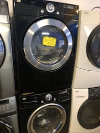 LG front load washer and dryer set