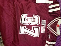 maroon and white Nike Montana 37 jersey Great Falls, 59405