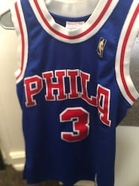 Allen Iverson Mitchell and Ness Jersey size Small  North Charleston, 29418