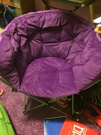 purple and brown moon chair Cumberland, 21502