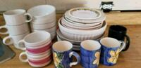 Lot of dishes, bowls and mug Montréal, H1C 1Y4
