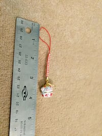 Bell with short lanyard