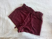 Shorts bordeaux H&M Roma, 00158