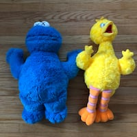 Kaws collection sesame street doll Toronto, M4N