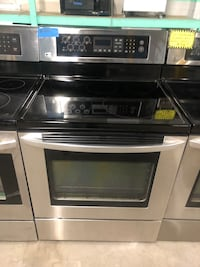 LG stainless steel convection oven