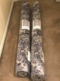 Set of 2 beige gray 5x7 rugs click on my profile picture on this page to check out my other items message me if you interested gaithersburg md 20877 Gaithersburg, 20877