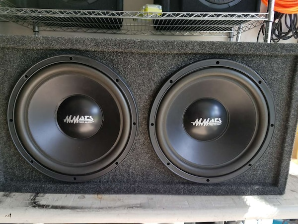 12in mmats pro audio subwoofers
