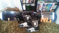 Gnu freestyle snowboard with DC boots Rochester, 03867
