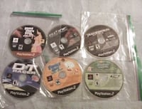six assorted PS3 game discs Harpers Ferry, 25425
