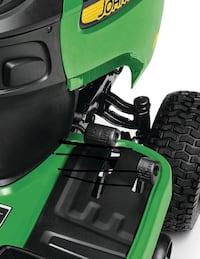 green and black ride on mower Gainesville, 20155