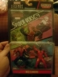 Marvel figures with comic book