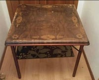 Antique card table