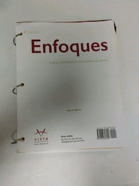 Enfoques 4th Edition Blanco Knoxville, 37924