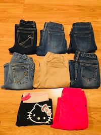 Jeans for girl  Sz 6t-7t