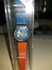 NEW WITH TAGS MICKEY MOUSE RUNNING FIGURE WATCH. Middleborough, 02346
