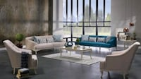 Bellona, Estonya 4-Piece Living Room Set  [ETA: 1 Houston