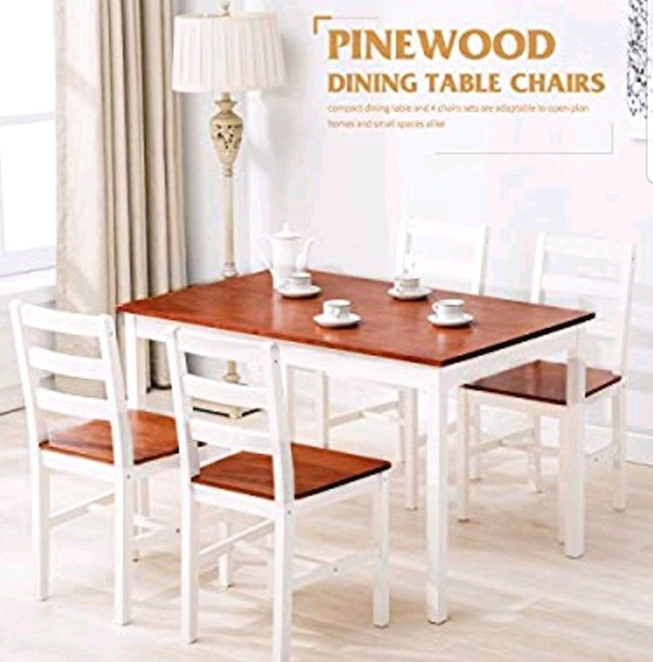 5 Piece Dining Table Set For 4 Person