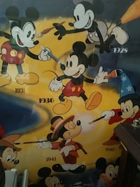Mickey Mouse and Minnie Mouse print textile Miami, 33176