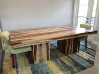 Solid wood table- bench-coffee table-chairs Toronto, M6N 3P1
