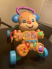 Baby walker/push toy