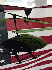 Hercules Indestructible helicopter No antenna but all works Decatur, 62526