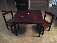Kids Table and Chairs  Edmonton, T6K 4E1