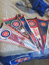 Alfonso Soriano Action Figure, Cubs Flags, and a Sammy Sosa Jersey(not signed) Phoenix, 85027