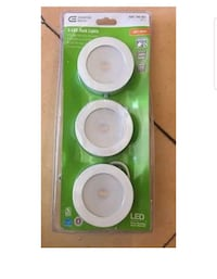 Commercial Electric 3-LED White Puck Lights Brunswick County, 28462