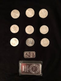 Assorted silver and gold coins (negotiable) Surrey, V3W