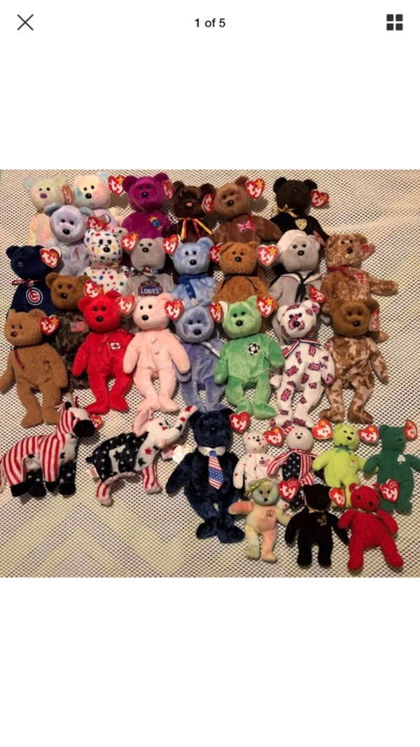 e04902fc542 Used Ty beanie babies for sale in Mesa - letgo
